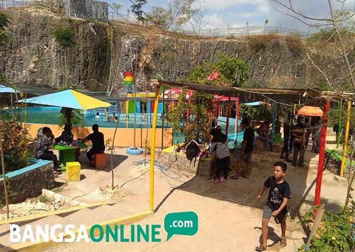 Tebing Pelangi, Wisata Baru di Tuban yang Dibangun di atas Bekas Lahan Tambang