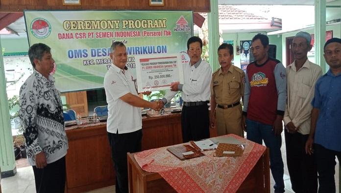 CSR PT Semen Indonesia