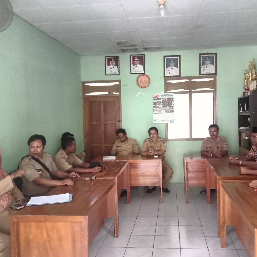 Kunjungan Tim Kabupaten ke Desa Dalam Rangka Pengisian Perangkat Desa