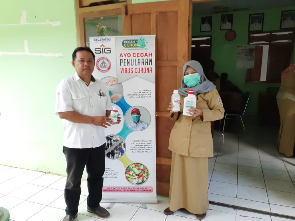 PT Semen Indonesia Peduli Corona